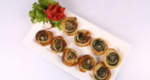 Spinach Mushroom Swirls Recipe