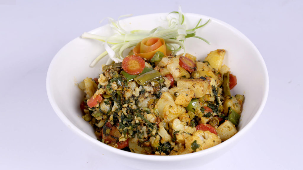 Vegetable Makhani | Dawat