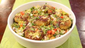 Aalu Tikki Chaat   Quick Recipe