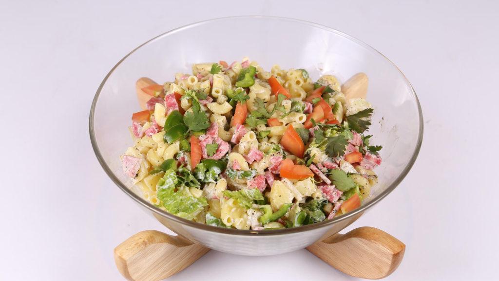 Macaroni Potato Salad | Tarka
