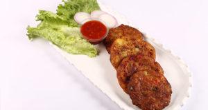 Aalu kay Chapli Kabab Recipe | Flame On Hai