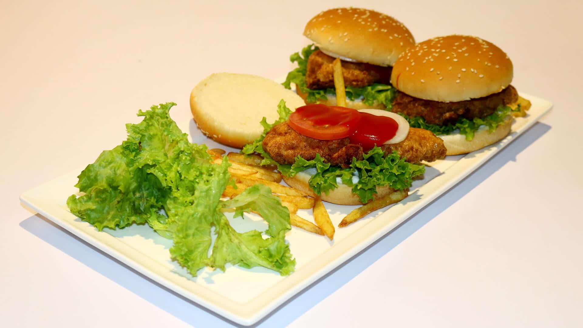 Bohra Fry Steak Burger Recipe | Flame On Hai