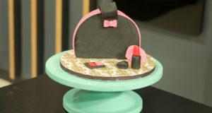 Bag Shaped 3D Cake Recipe