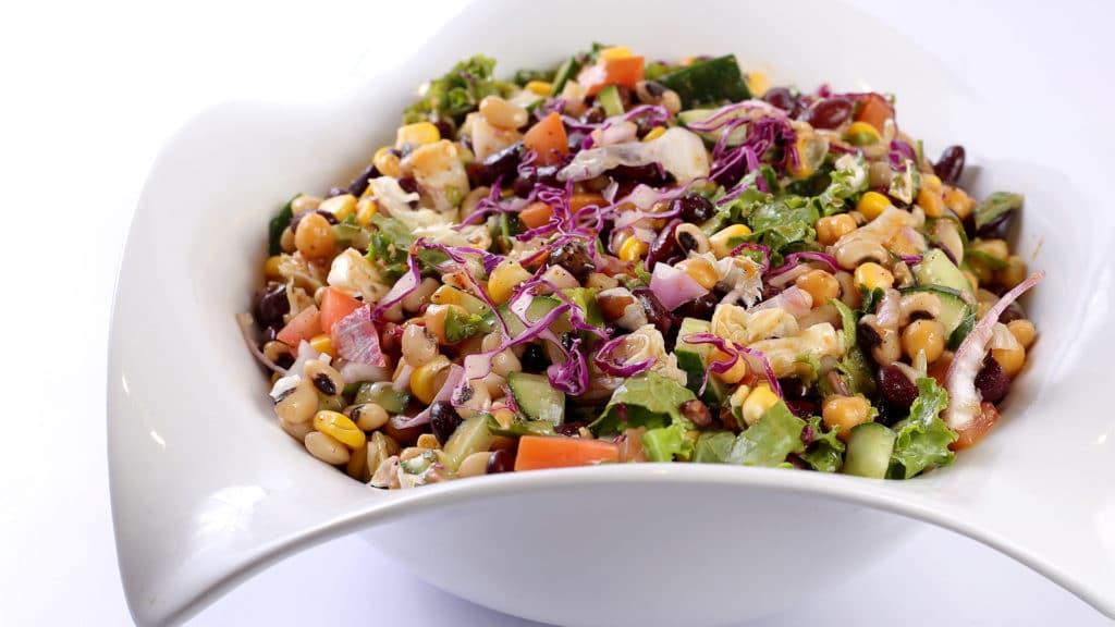 Bean Lettuce Salad | Quick Recipe