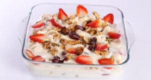 Creamy Fruit Salad Recipe | Tarka