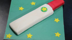 Cricket Bat-shaped Cake Recipe | Bake At Home