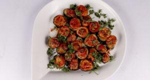 Eggplant Pizza Bites Recipe   Dawat
