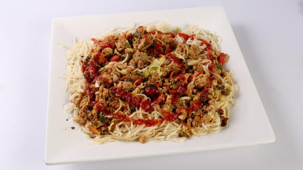 Garlic Noodles Recipe | Tarka