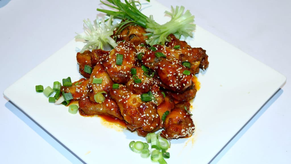 Honey Sriracha Wings Recipe | Lazzat