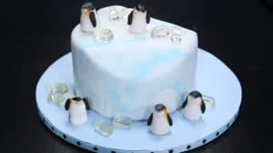 Igloo Design Cake Recipe | Bake At Home