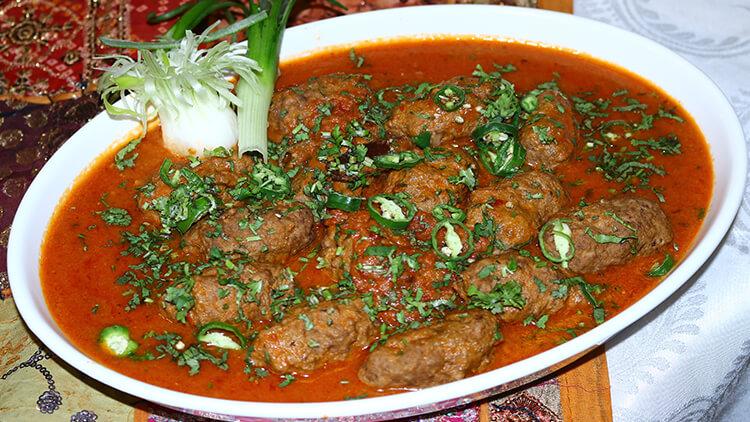 Kashmiri Kabab Curry Recipe