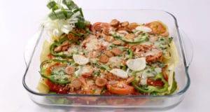 Lasagna Pizza Pie Recipe   Dawat