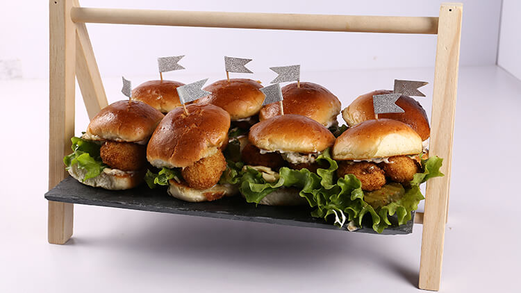 Mini Ranch Burgers Recipe | Evening With Shireen
