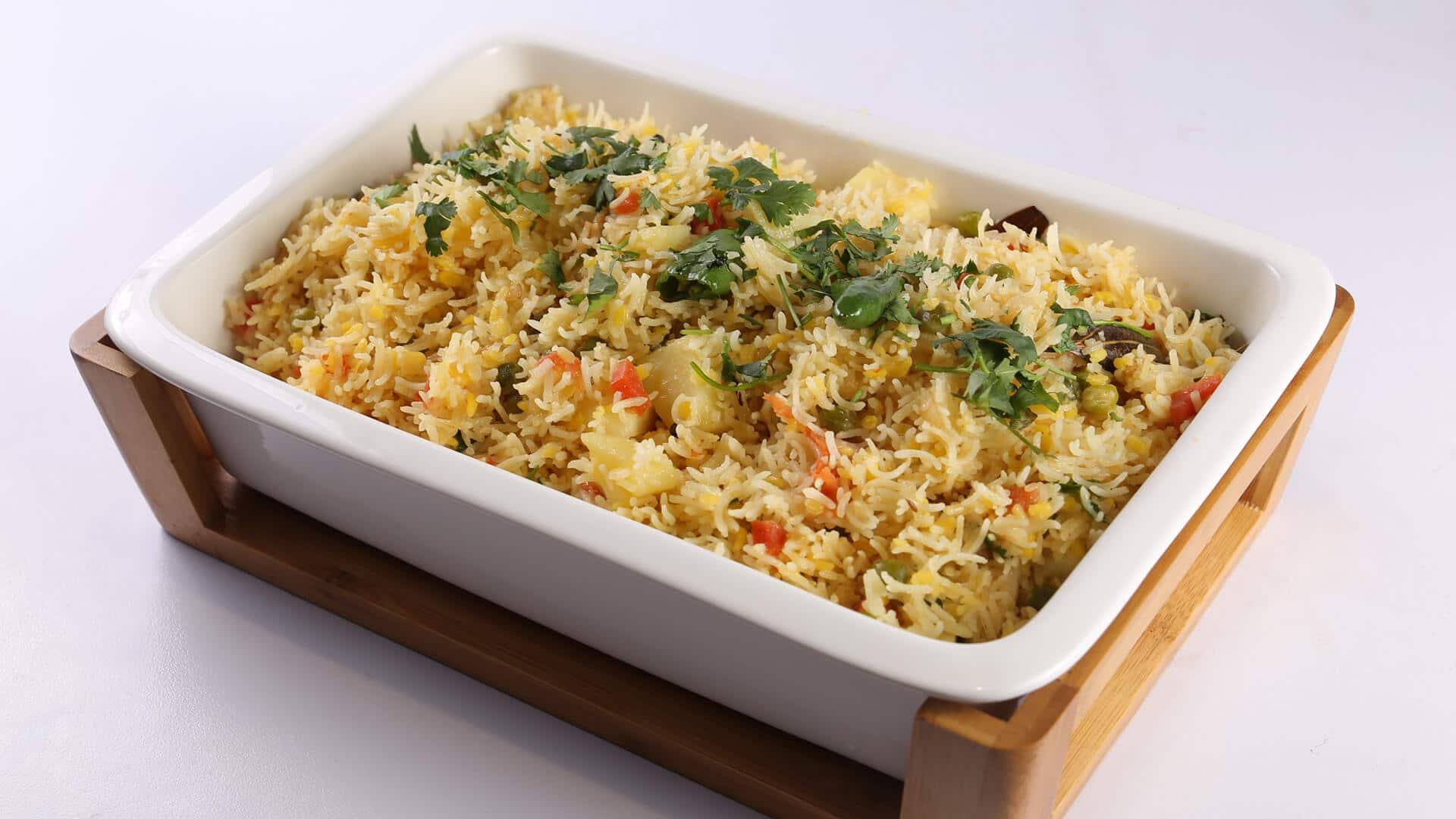 Mix Vegetable Khichdi Recipe   Lazzat