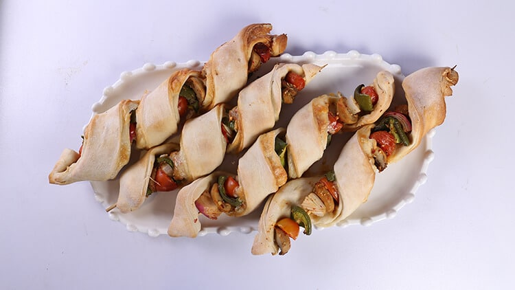 Pizza Sticks Recipe | Dawat