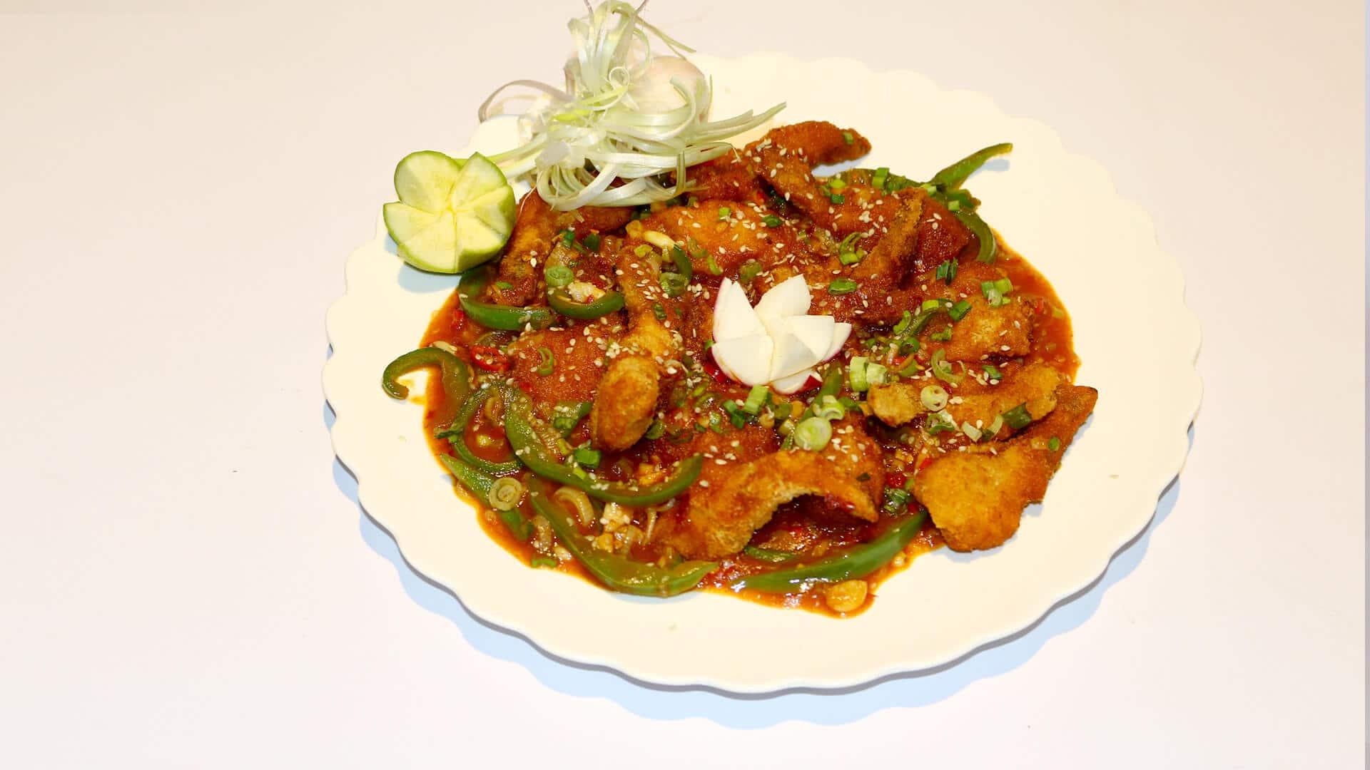 Shrimp in Sriracha Sauce Recipe | Evening With Shireen