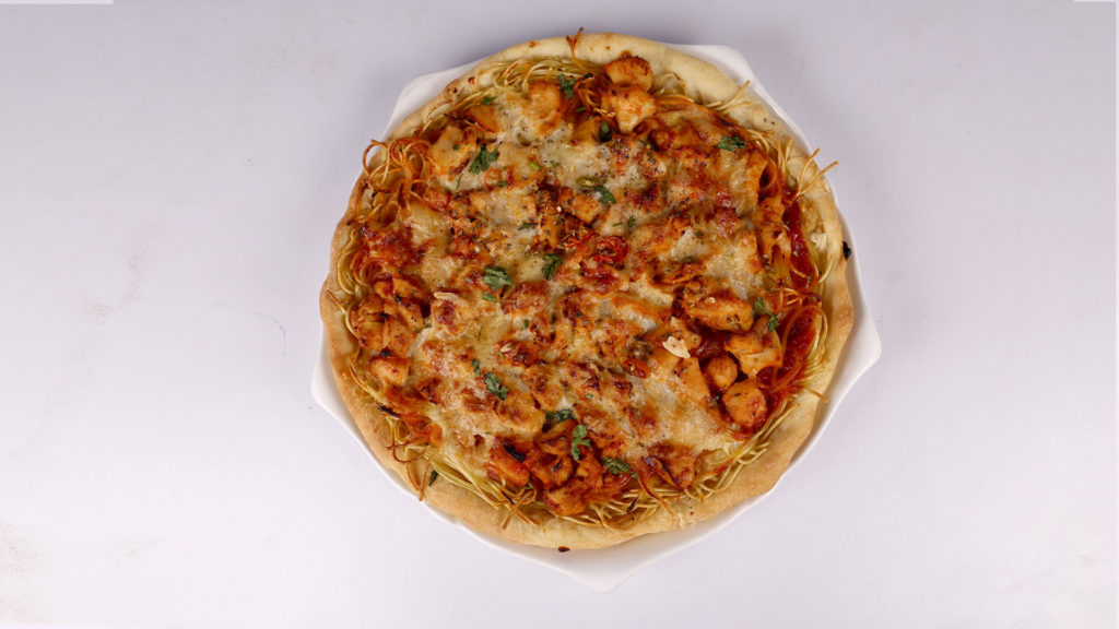 Spaghetti Pizza Pie Recipe
