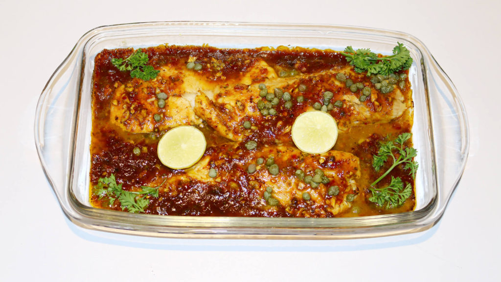 Spicy Fish Baked Recipe | Food Diaries