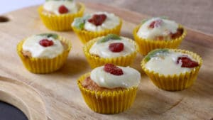 Tropical Yogurt Cupcakes Recipe | Food Diaries