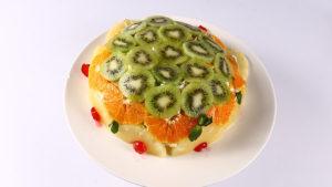 Upside Down Kiwi Trifle Recipe | Dawat