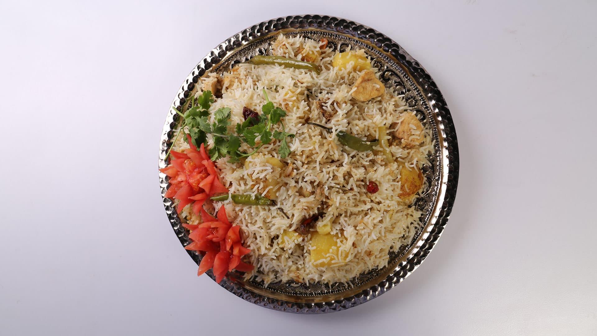 White Chicken Biryani Recipe | Lazzat