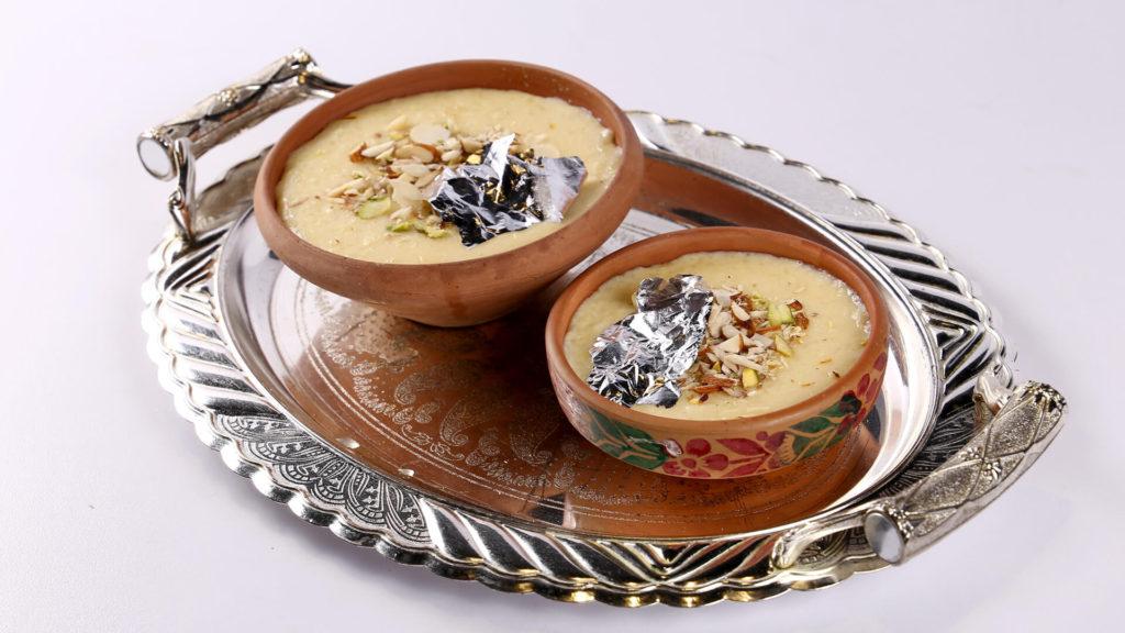 Zafrani Khoya Kheer Recipe   Lazzat