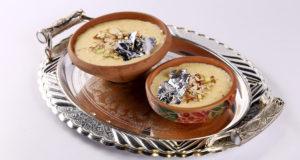Zafrani Khoya Kheer Recipe | Lazzat