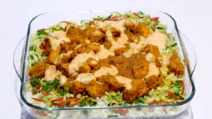 Barbecue Rice Recipe | Lively Weekends