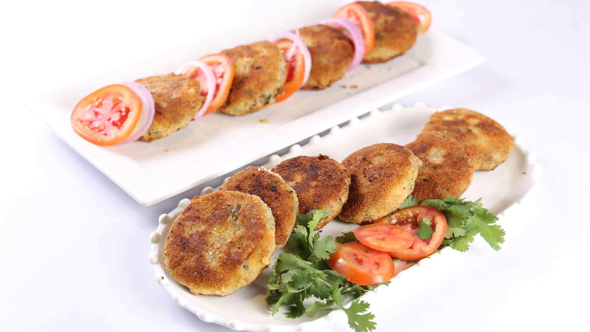 Potato Cutlets Recipe | Tarka
