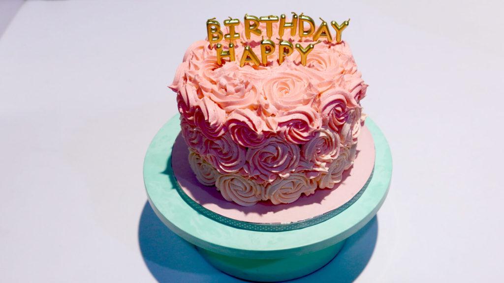 Rose Cake | Quick Recipe