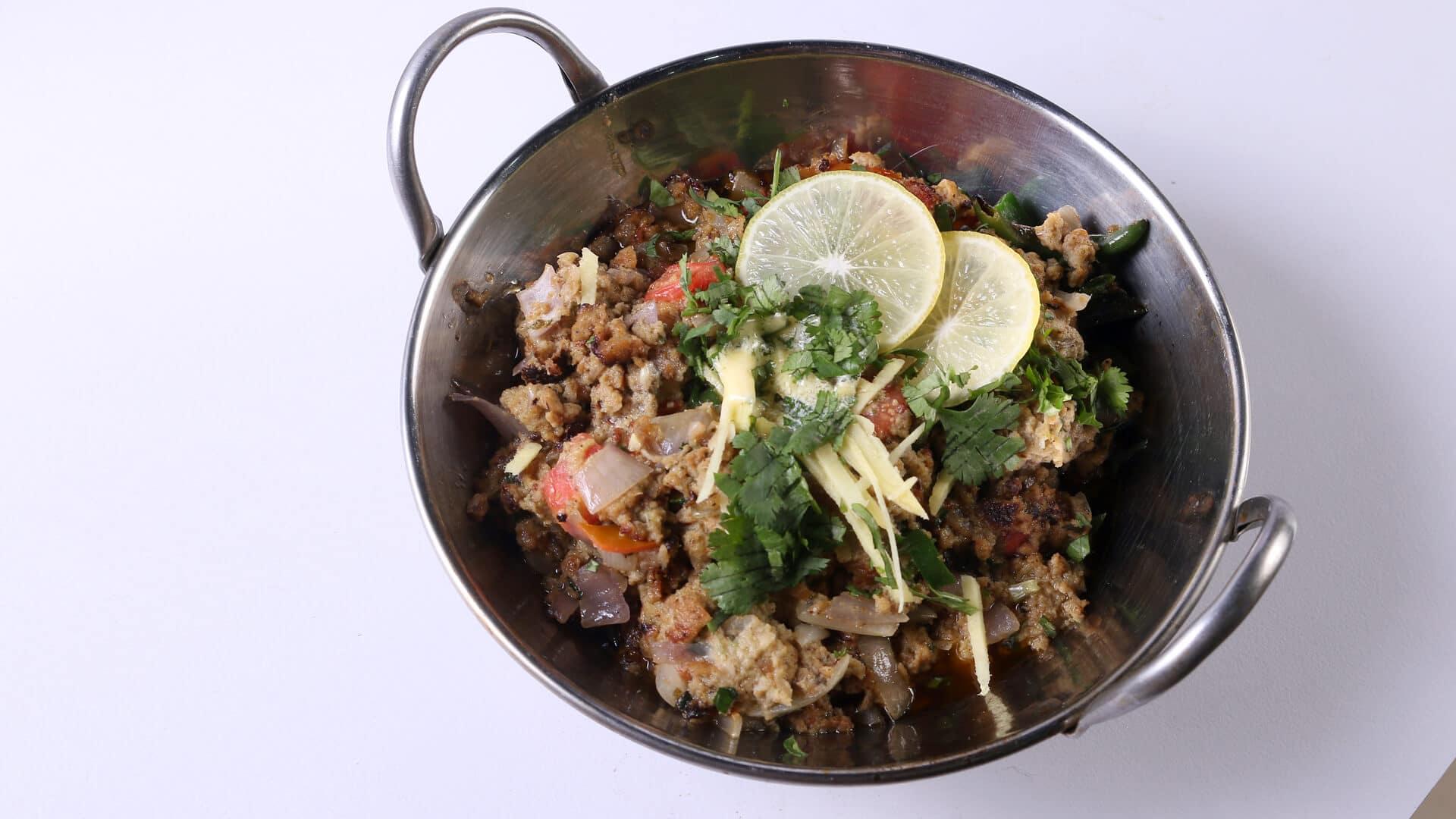 Seekh Kabab Katakat Recipe   Tarka