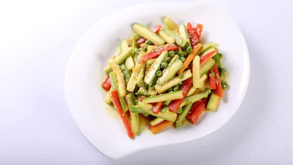 Sautéed Soya Veggies Recipe   Food Diaries