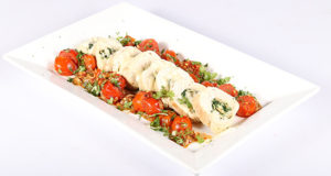 Chicken & Spinach Roulade Recipe | Dawat