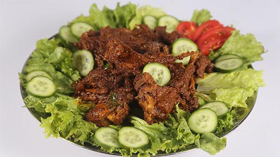 Ghee Roast Mutton Chops | Quick Recipe