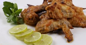 Greek Style Baked Wings Recipe | Lazzat