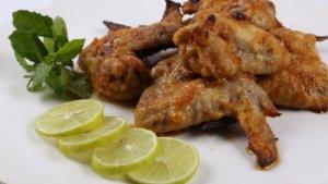 Greek Style Baked Wings Recipe   Lazzat