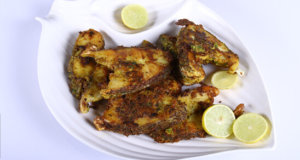 Hara Masala Fry Fish Recipe | Tarka
