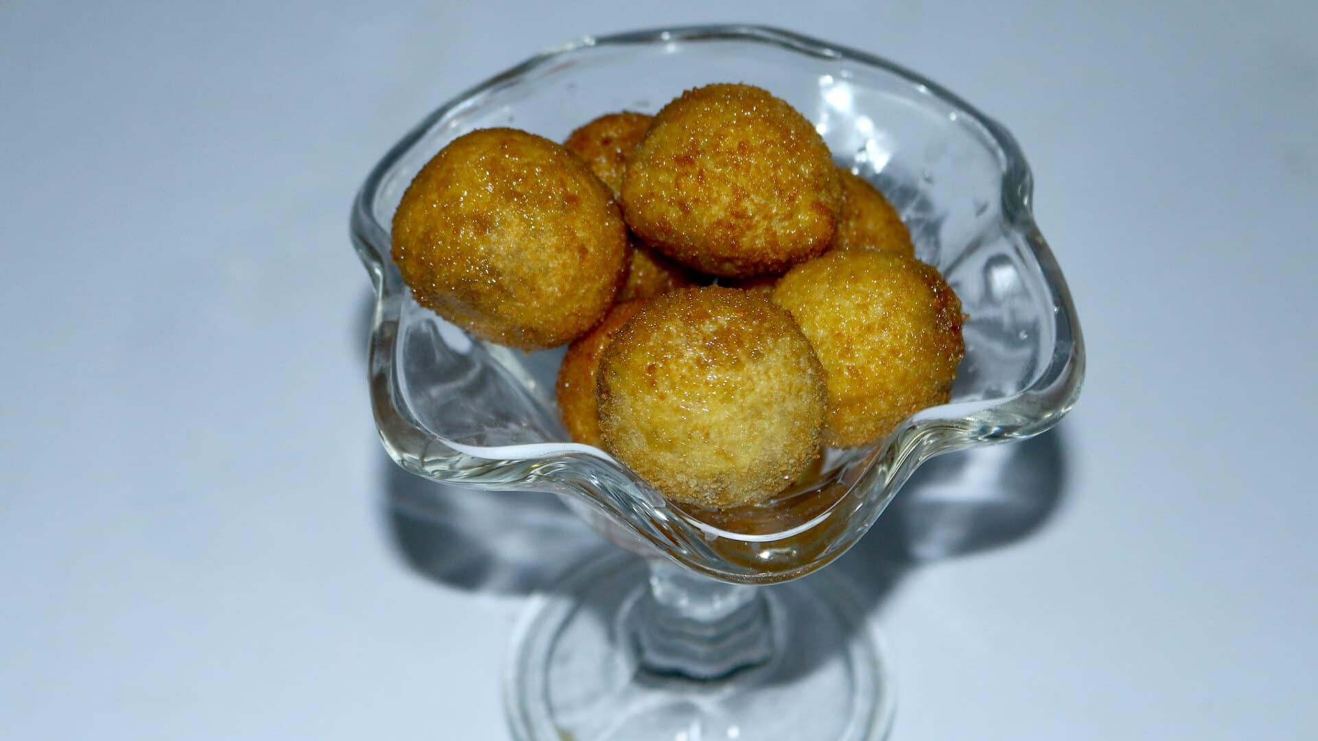 Hazelnut Honey Balls Recipe | Flame On Hai