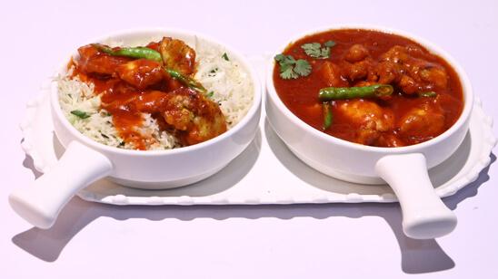 Hot Chicken Rice Recipe   Tarka