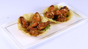 Hot Wings in Fried Basket Recipe | Dawat