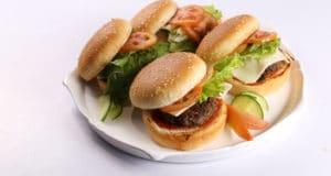Juicy Hamburger Recipe | Dawat