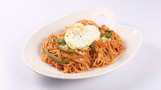 Ketchup Spaghetti Recipe | Food Diaries