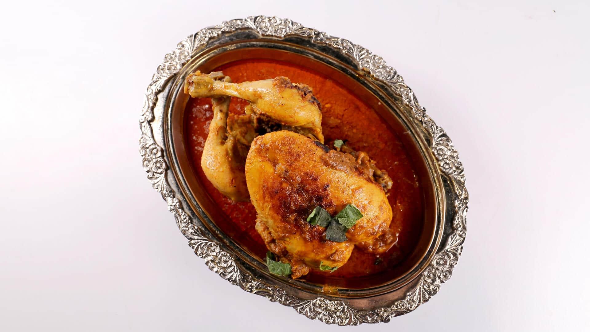 Murgh Musallam Recipe | Tarka