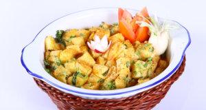 Potatoes in Spiced Yogurt Recipe | Masala Mornings