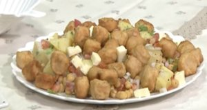 Potato Bean Salad Recipe | Tarka