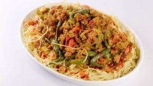 Qeema Spaghetti Recipe | Tarka