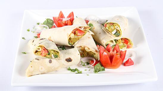 Samosa Burrito Recipe   Dawat