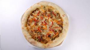 Seekh Kabab Crust Pizza Recipe | Dawat