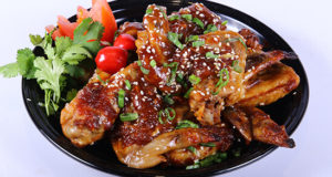 Sticky Thai Chicken Wings Recipe | Lazzat