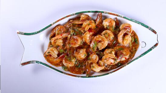 Stir Fried Shrimps Recipe   Food Diaries